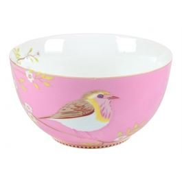 Floral Early Bird Pink Bowl 15 cm