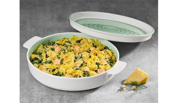 Clever Cooking Green Servierplatte / Top Rund 26cm