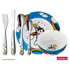 WMF UNICORN Kinderbesteck-Set 6tlg.