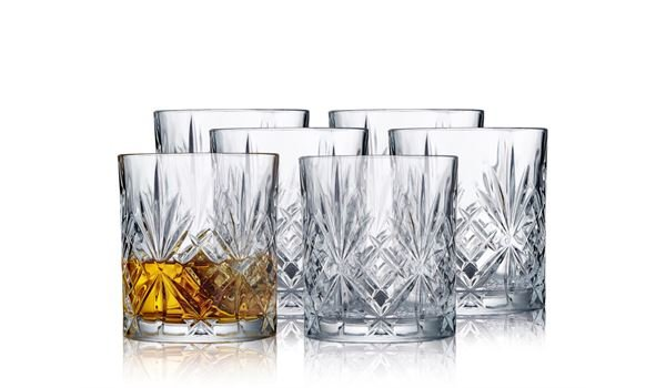 Melodia Whiskeyglas 0,31 l Set6