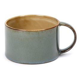 Terres de rêves Kaffeetasse misty grey/smokey blue